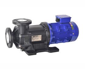 泓川塑料耐腐蚀磁力泵GY-402PW